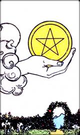 Kleine Arcana Pentagrammen