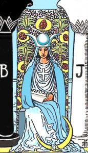 Tarot Hogepriesteres