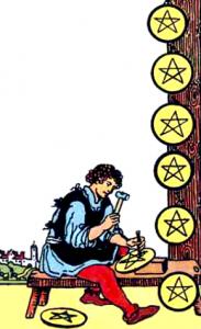 Tarot Pentagrammen Acht