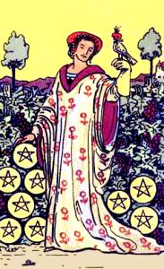 Tarot Pentagrammen Negen