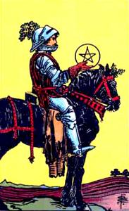 Tarot Pentagrammen Ridder
