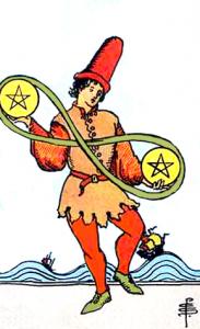 Tarot Pentagrammen Twee