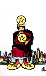 Tarot Pentagrammen Vier