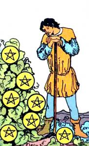 Tarot Pentagrammen Zeven