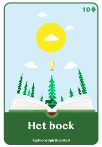 Lenormand kaart van het boek