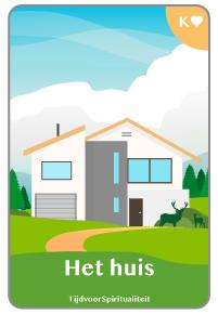 Lenormand kaart van het huis