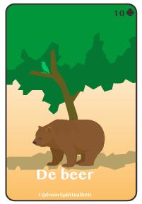 Lenormand kaart van de beer