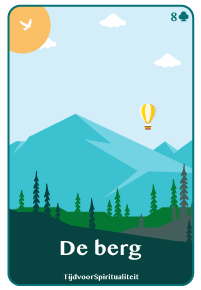 Lenormand kaart van de berg