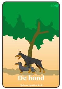 Lenormand kaart van de hond