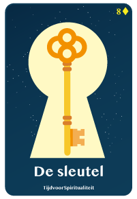 Lenormand kaart van de sleutel