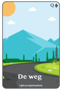 Lenormand kaart van de weg