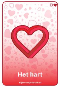 Lenormand kaart van het hart