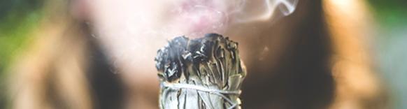 Spirituele schoonmaak met Salie rook