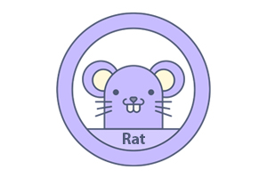 Chinese Jaarhoroscoop Rat